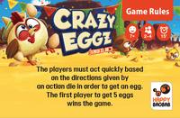 Crazy Eggz (new edition of Dancing Eggs)