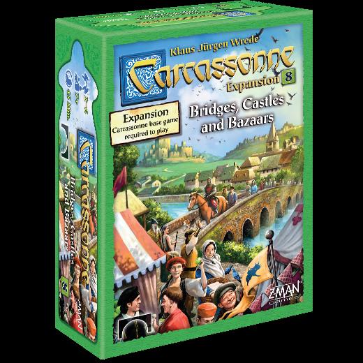 Carcassonne: Bridges, Castles and Bazaars Expansion