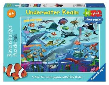 Underwater Realm Giant Floor Puzzle(60pc)