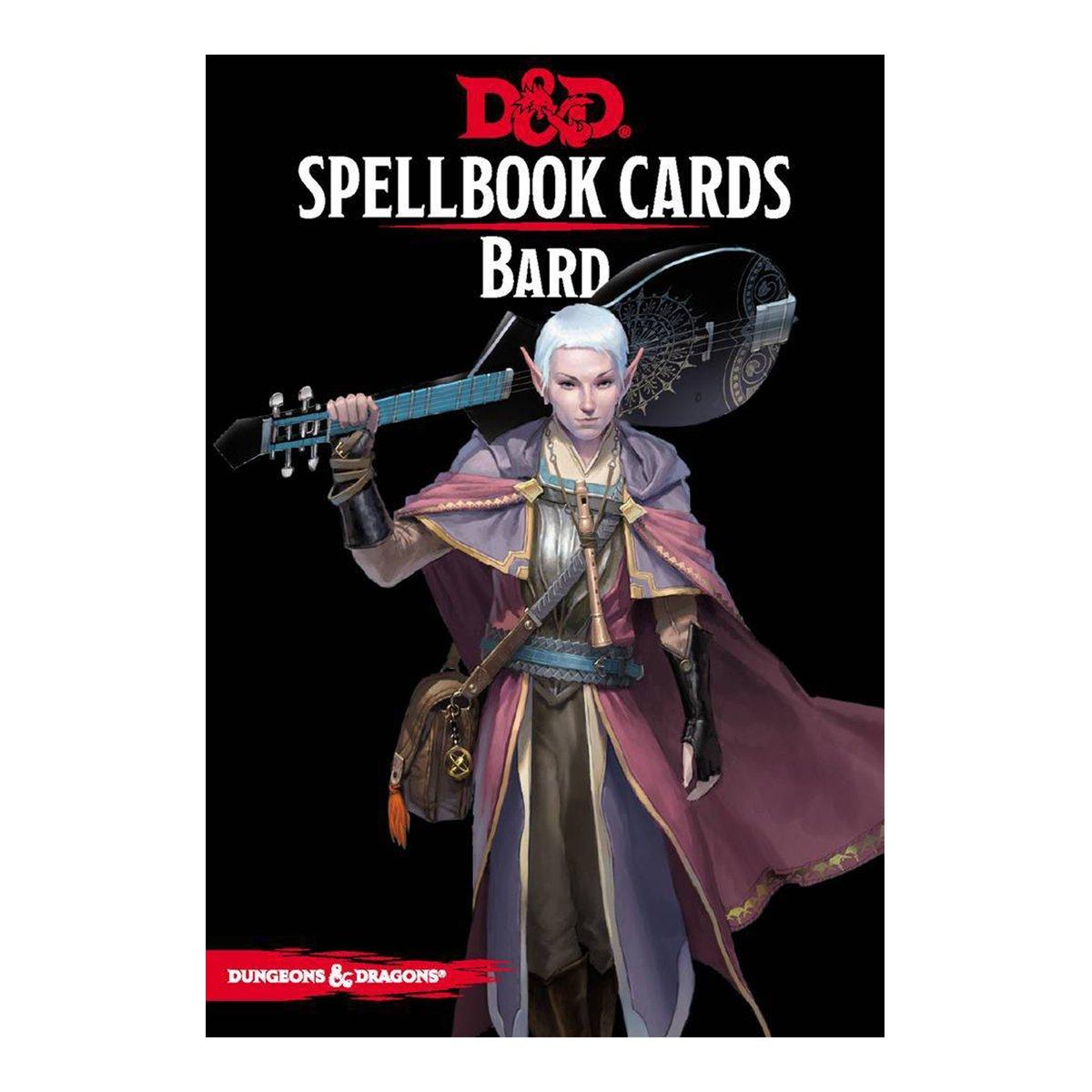 D & D Spellbook Cards - Bard