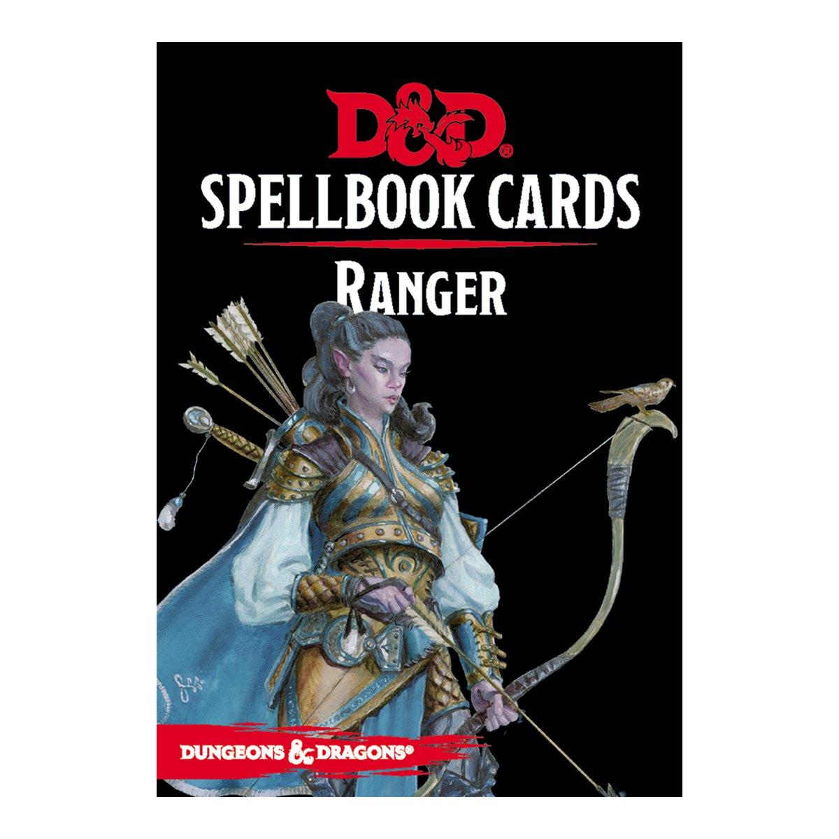 D & D Spellbook Cards - Ranger