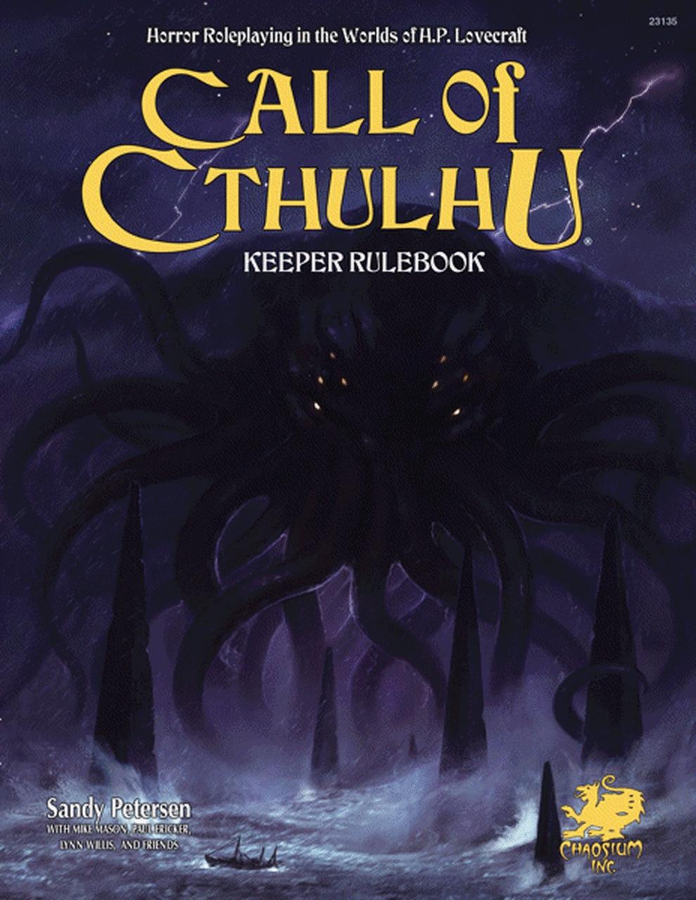 Call Of Cthulhu Keeper Rulebook