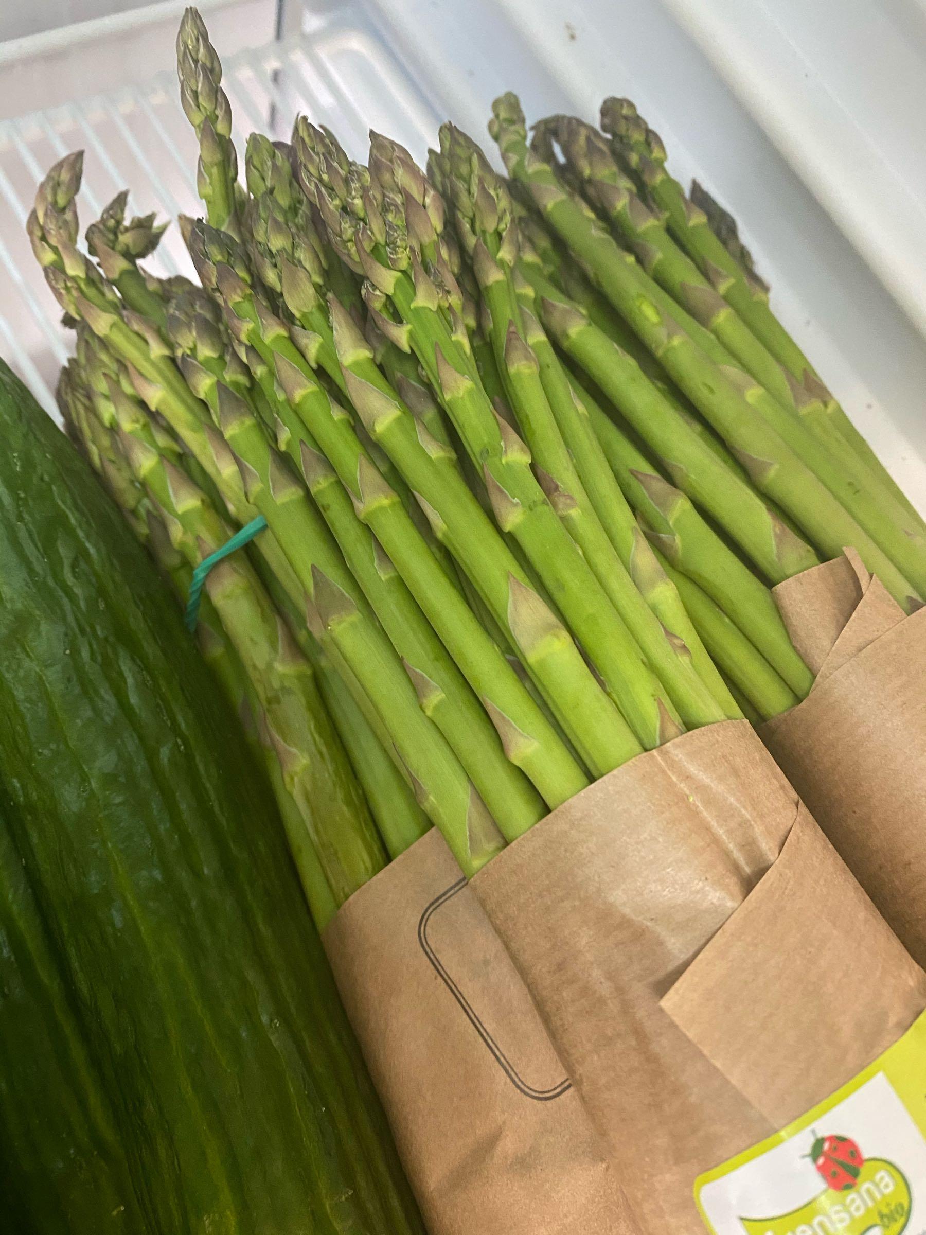 Organic Asparagus - UK