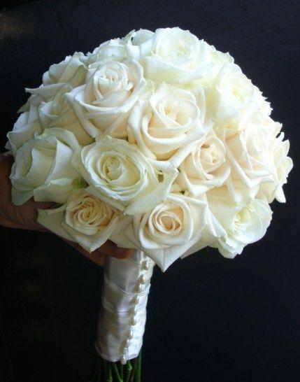 Brudebukett i fersken