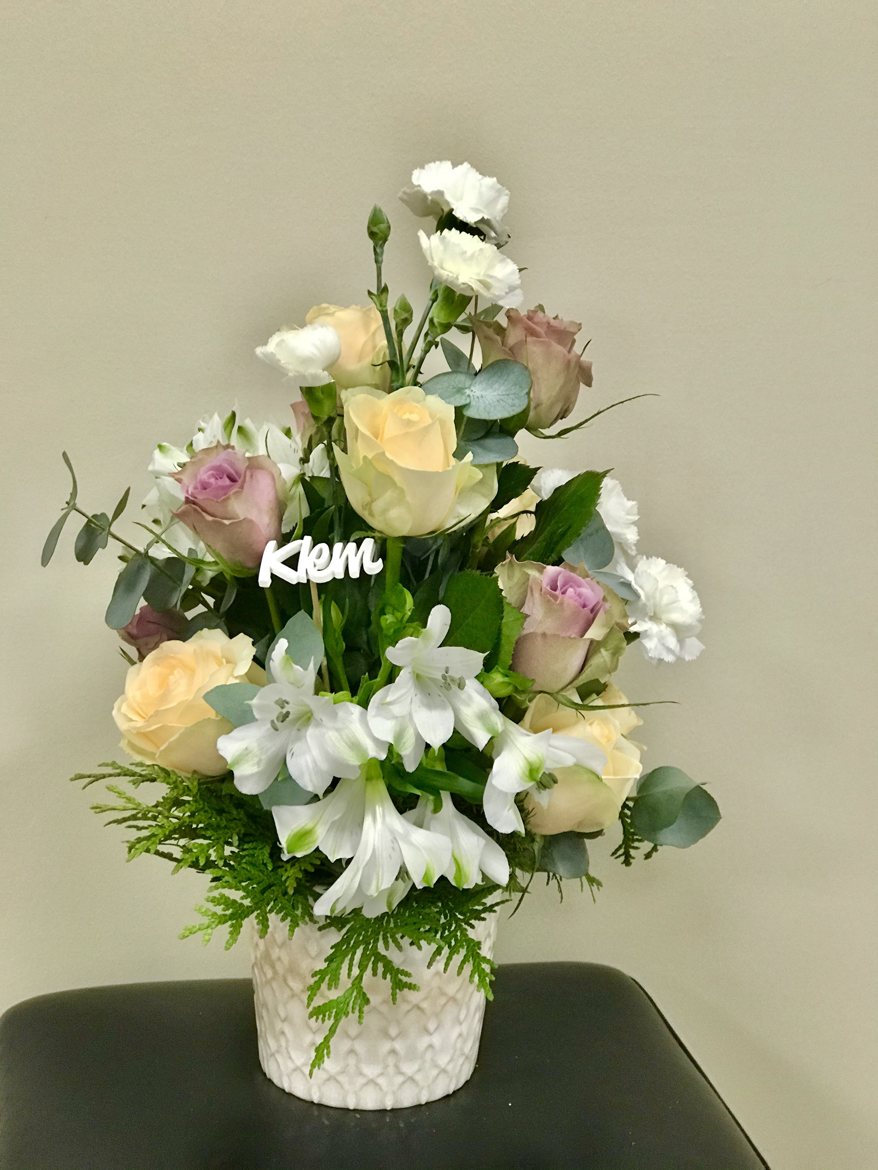 Blomster klem