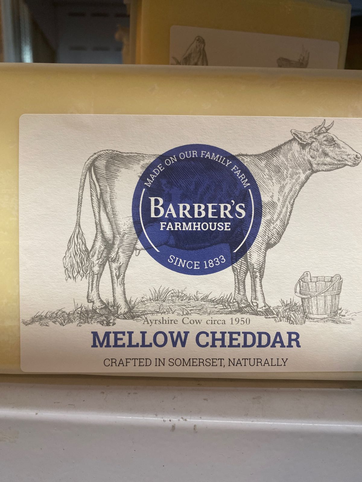 Barbers Cheddar Large