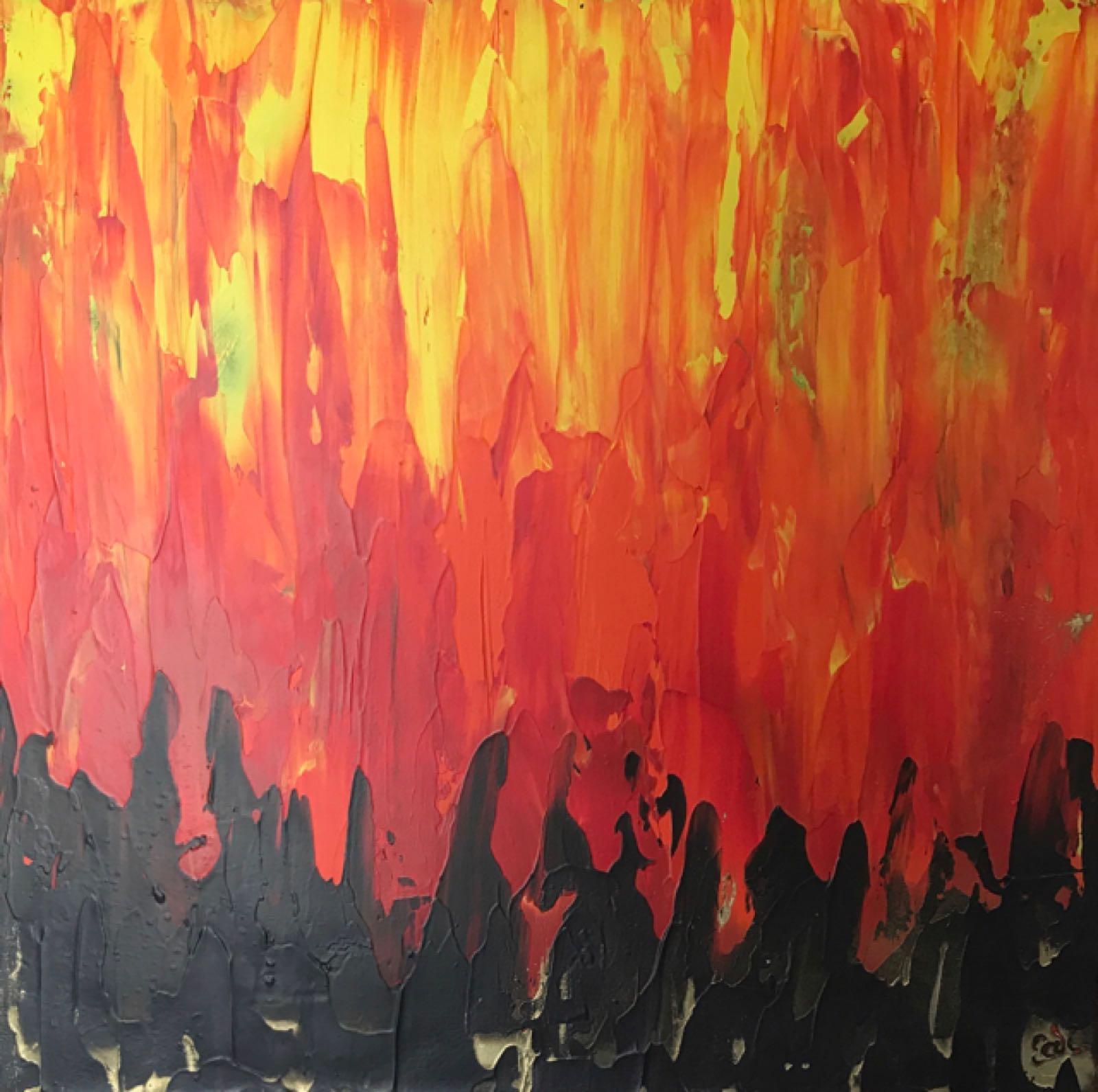 Original Work 'Fire'