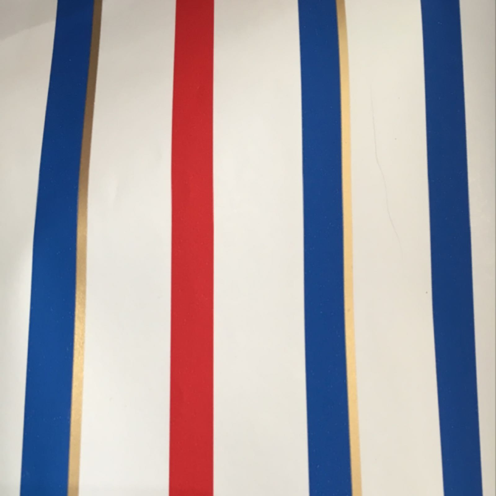 Logan Wrap (red and blue stripes)