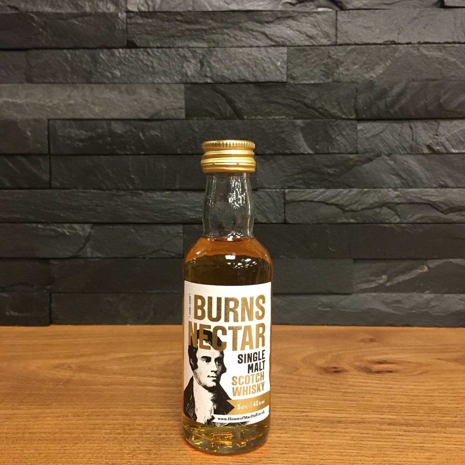 Burns Nectar Single Malt 5cl