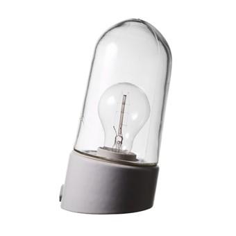 Porslinslampa utomhus, sned - Gysinge
