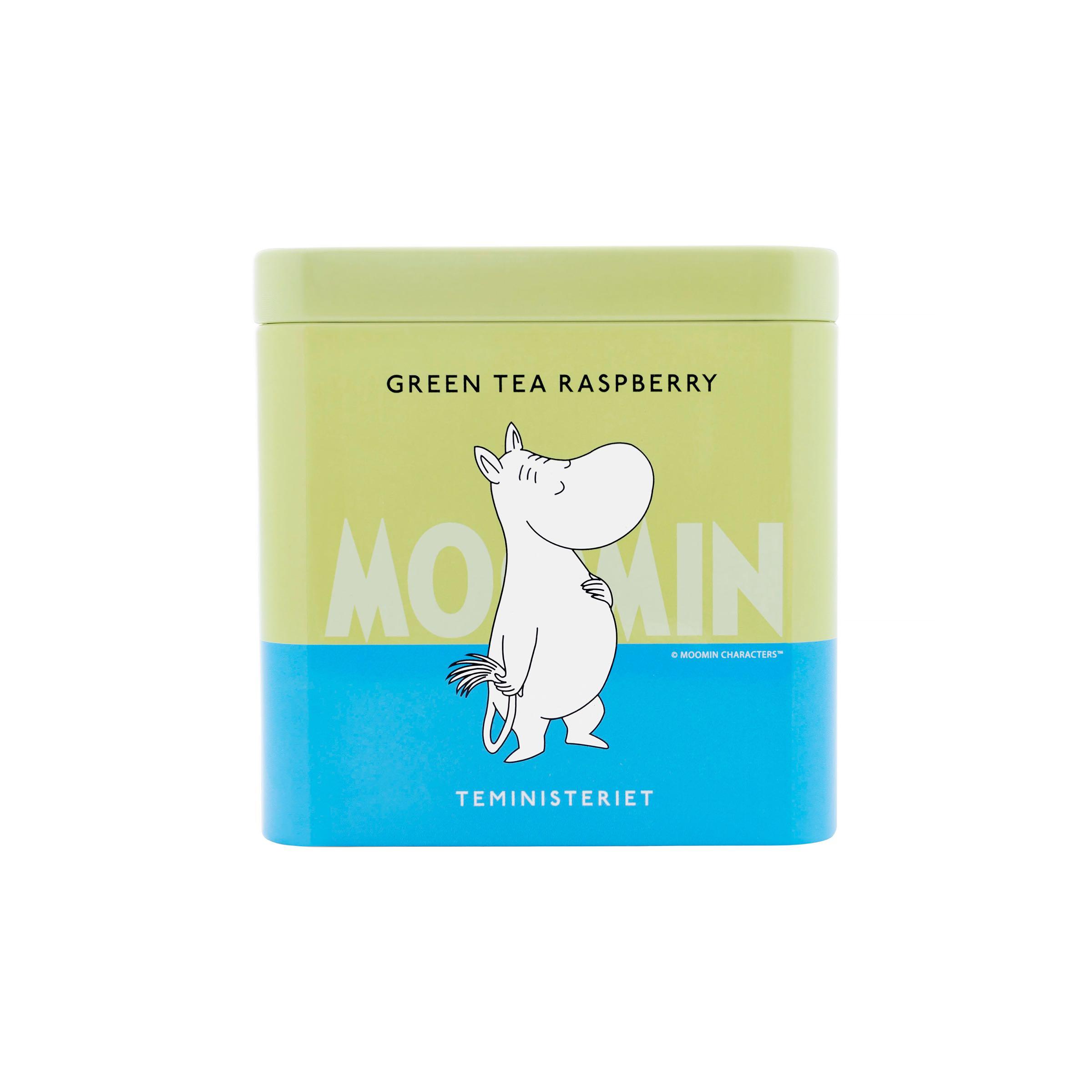 Teministeriet Moomin Te - Green Tea Raspberry