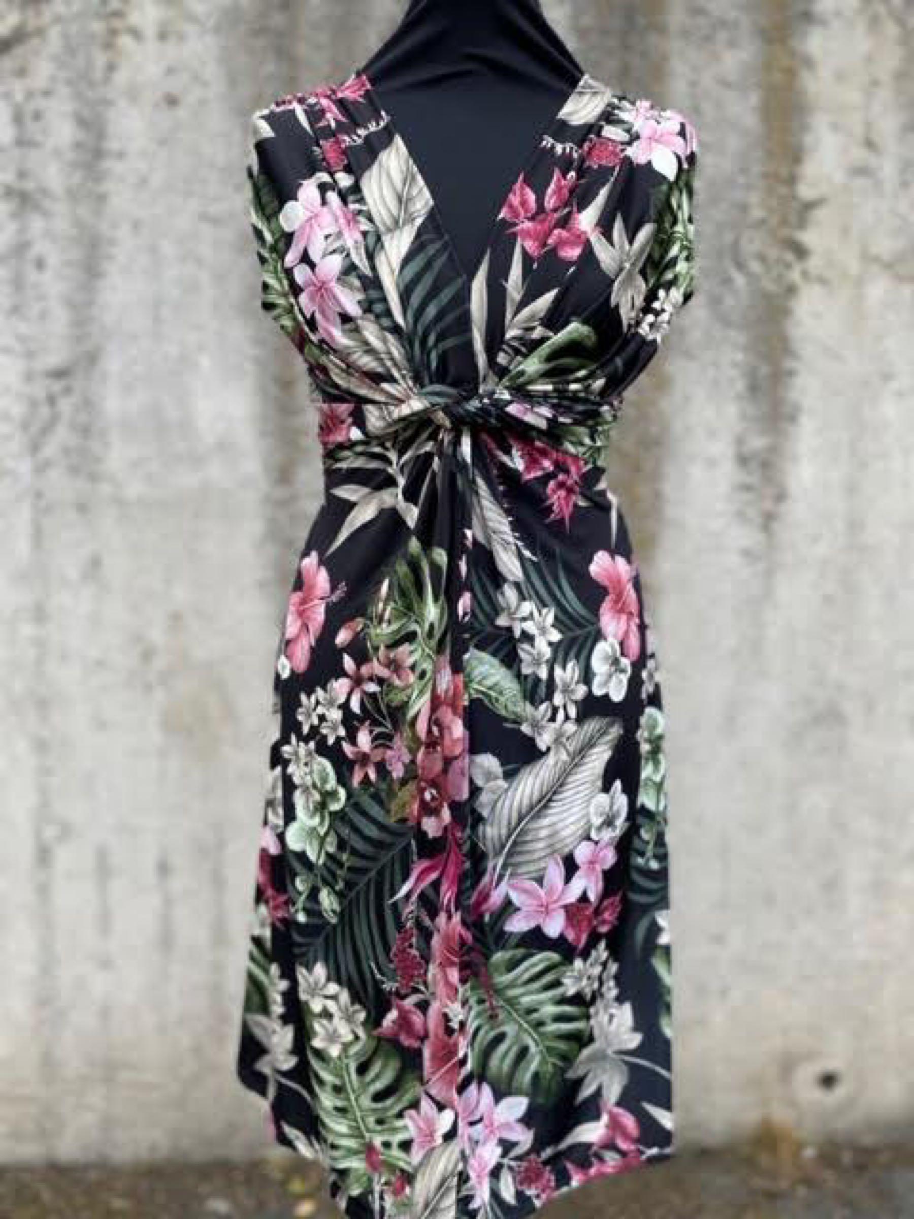 HEAVEN mönstrad klänning