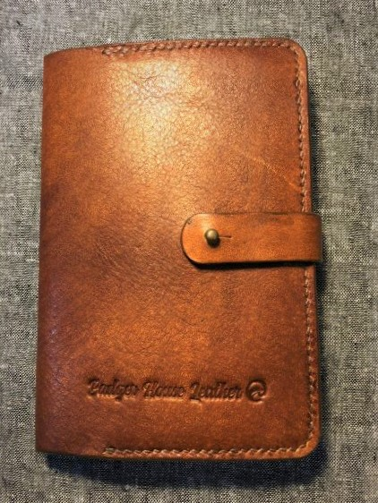 Leather Journal/ Diary sleeve pocket sized