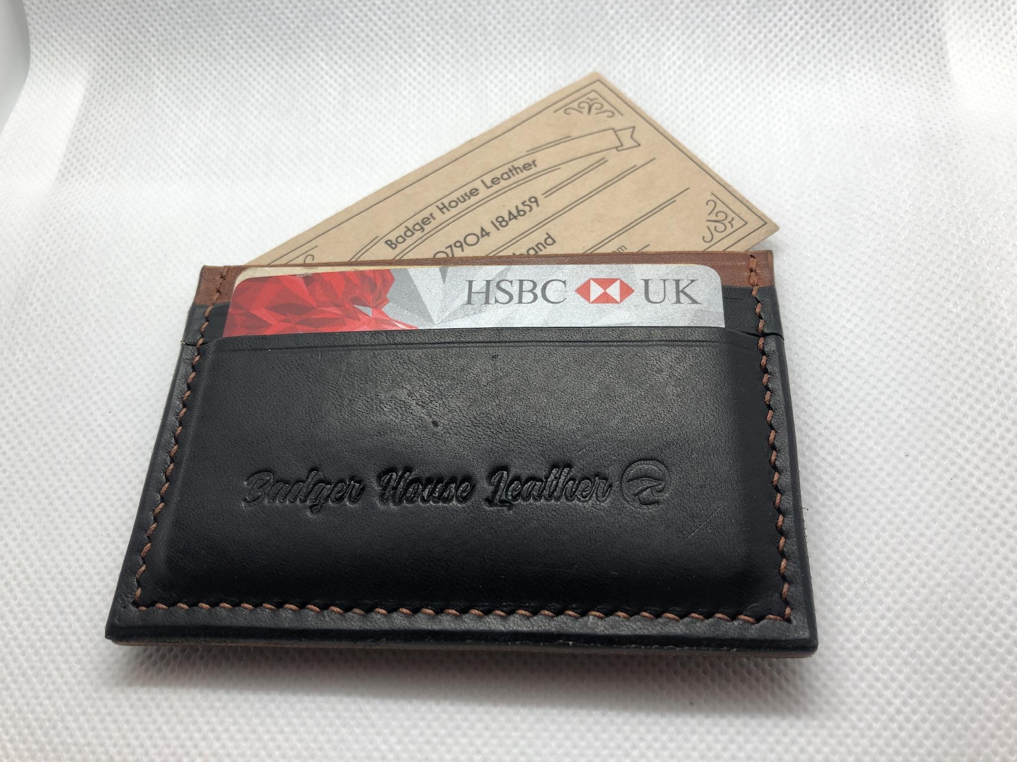 Card holder (four card minimalist)