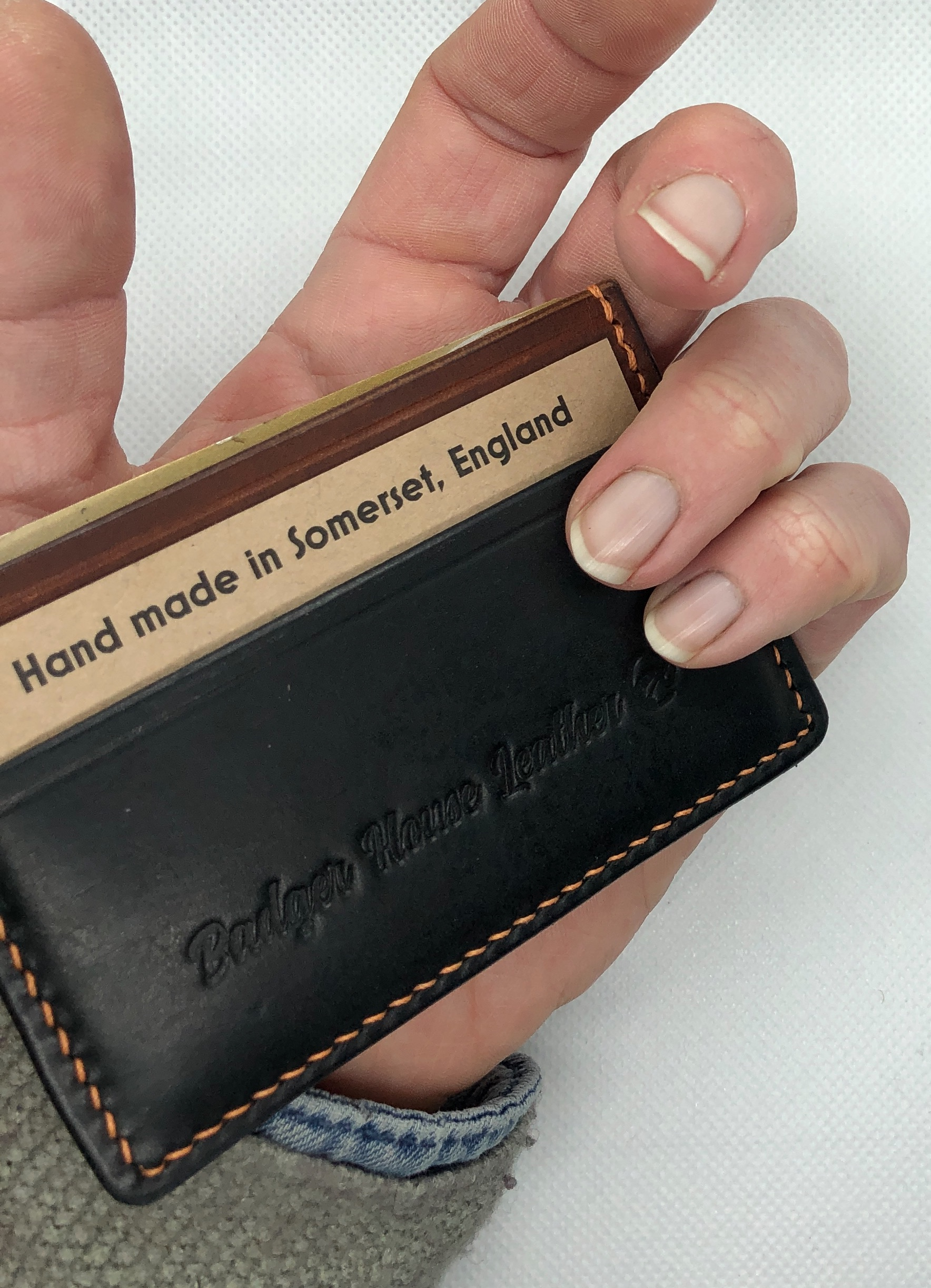 Card holder (four card minimalist)