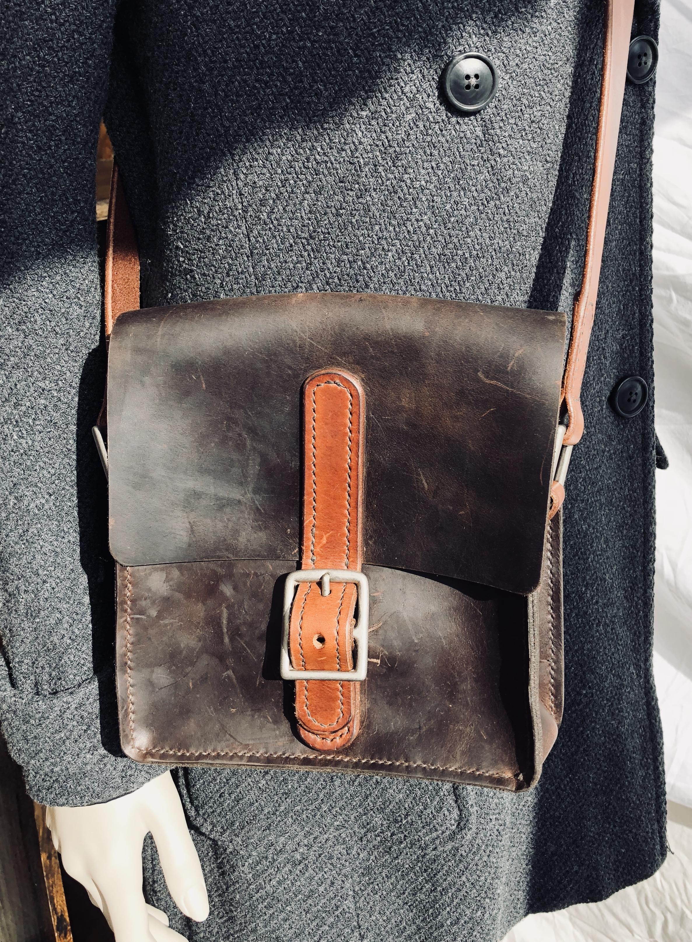 Satchel  - small two tone