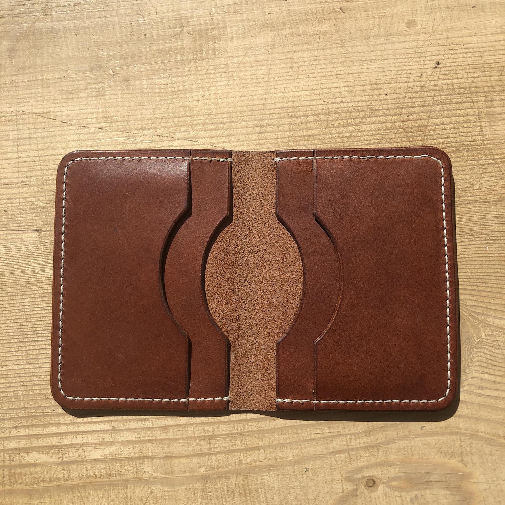 Card bi-fold (four card)