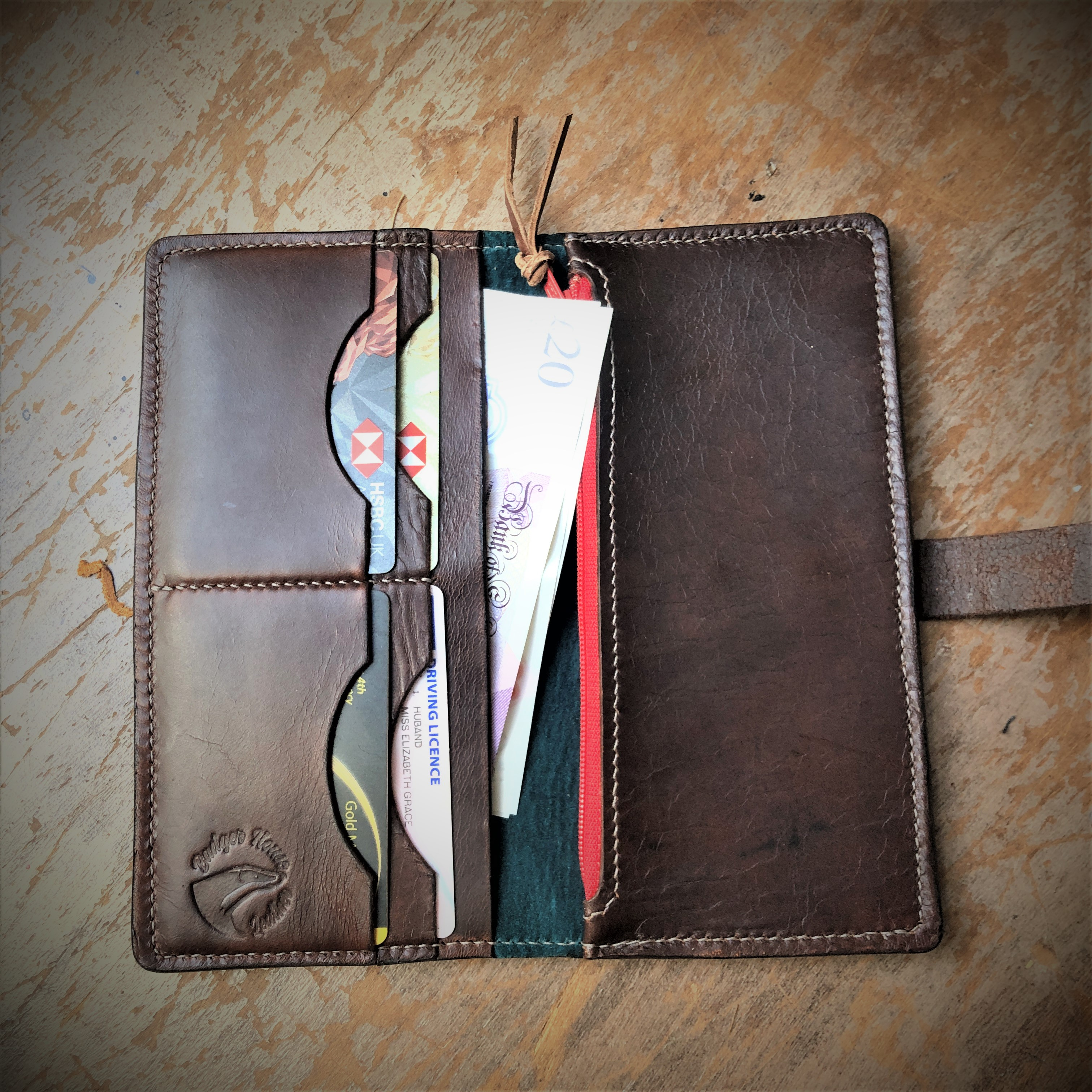 Leather purse/ Wallet