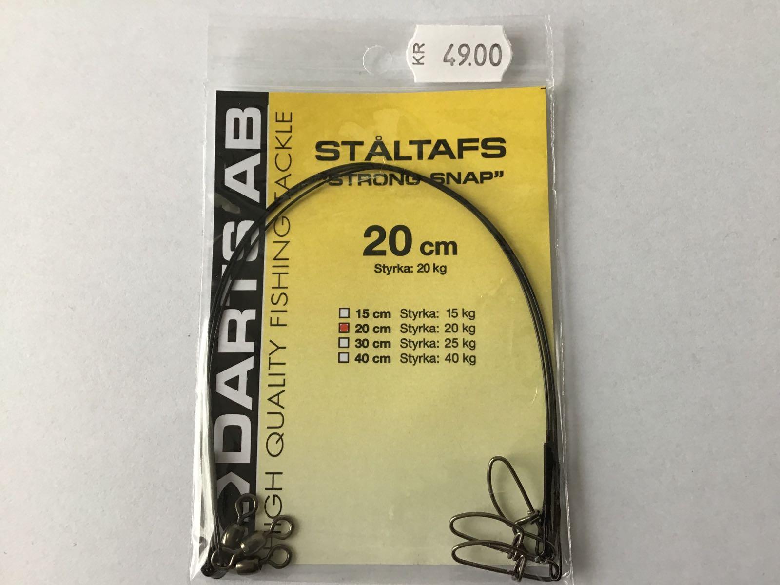 Darts ståltafs strong snap 20cm