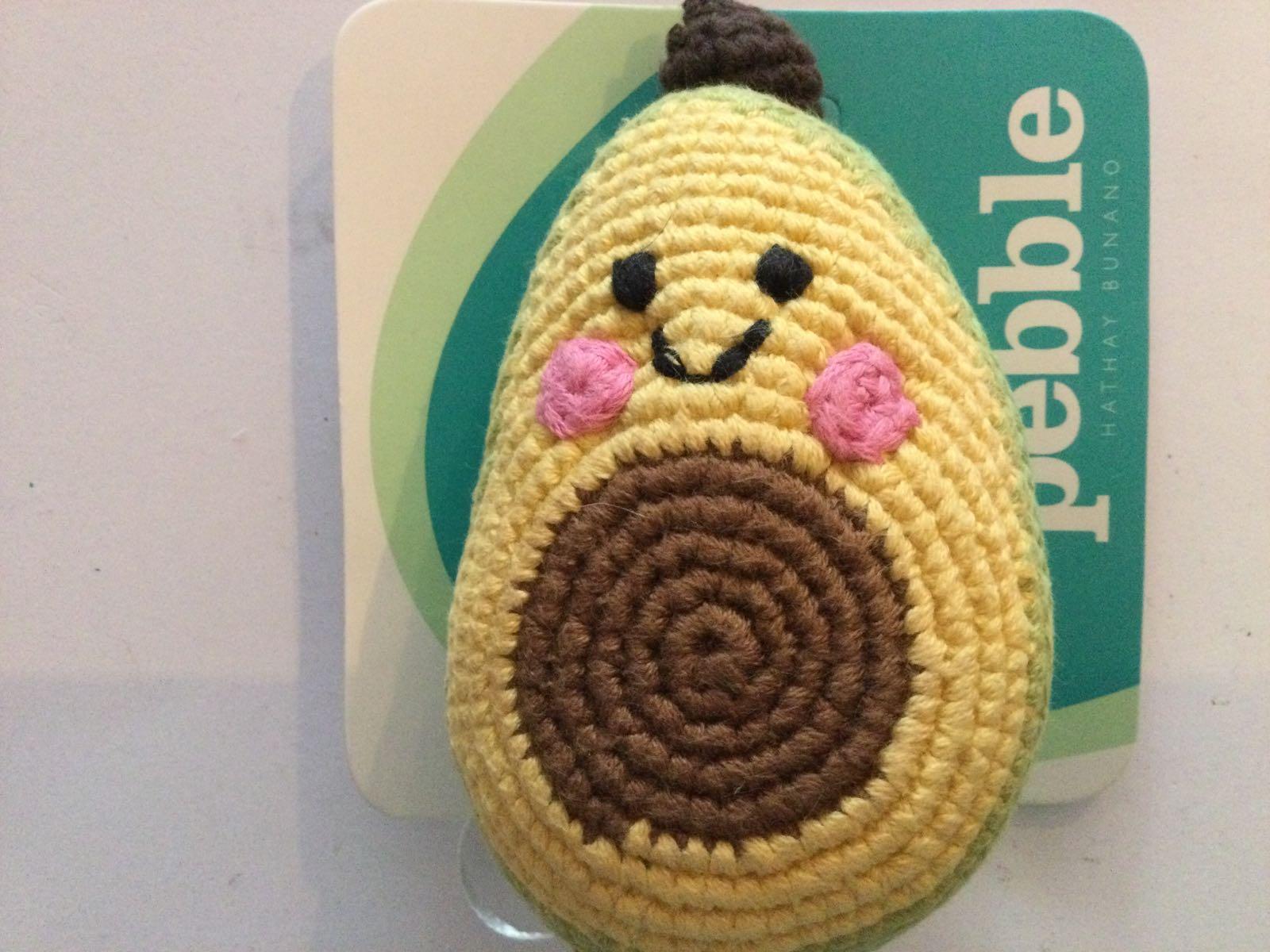 Pebble - Crochet Avacado Rattle