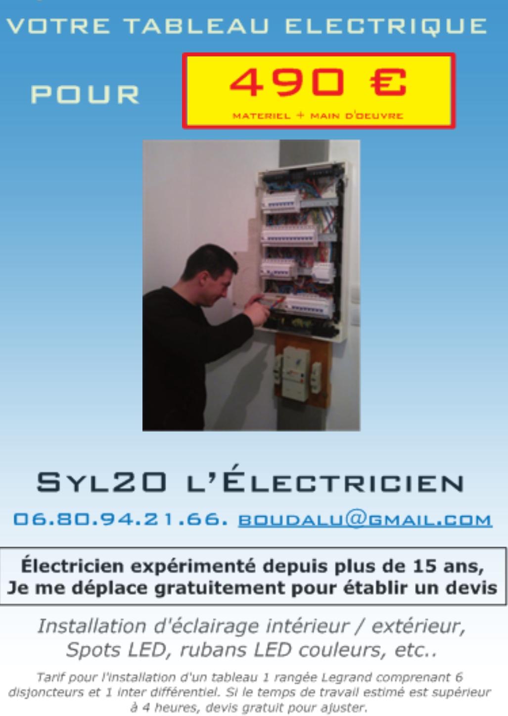 SYL20 L'ELECTRICIEN