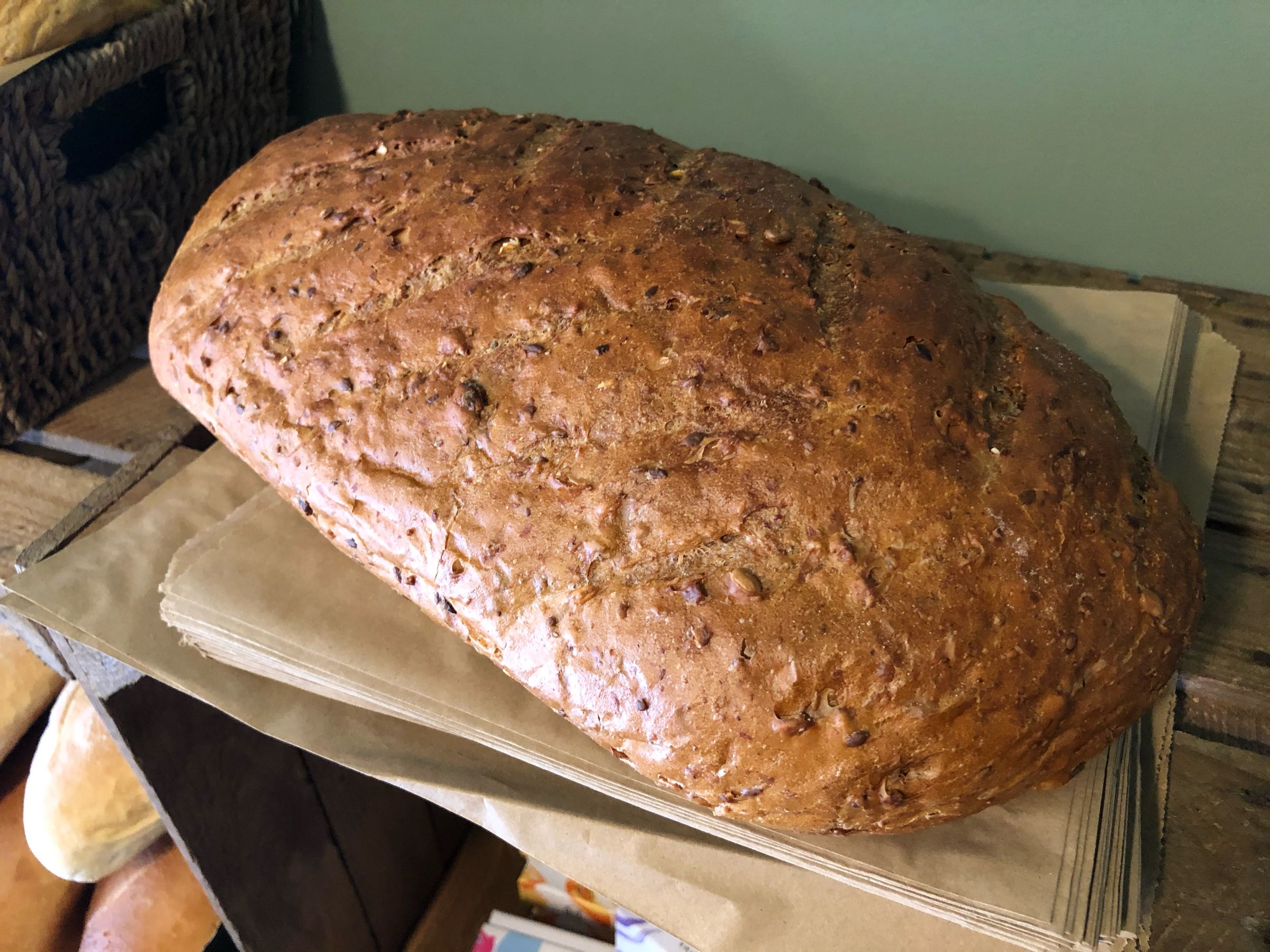 Large Seeded Bread 800g