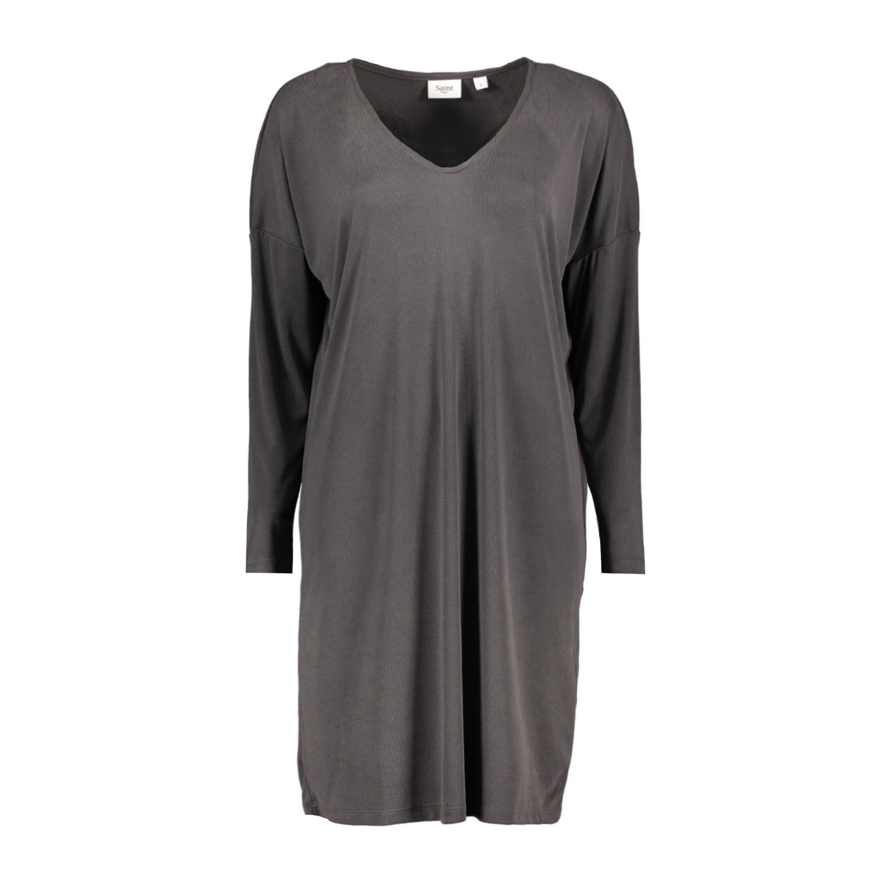 Giana Charcoal Jersey Dress by Saint Tropez