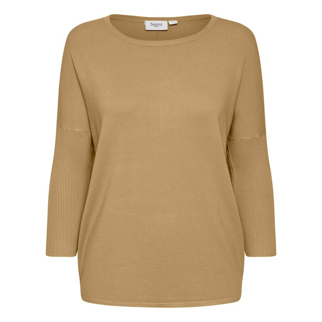 Coffee Mila Knit by Saint Tropez