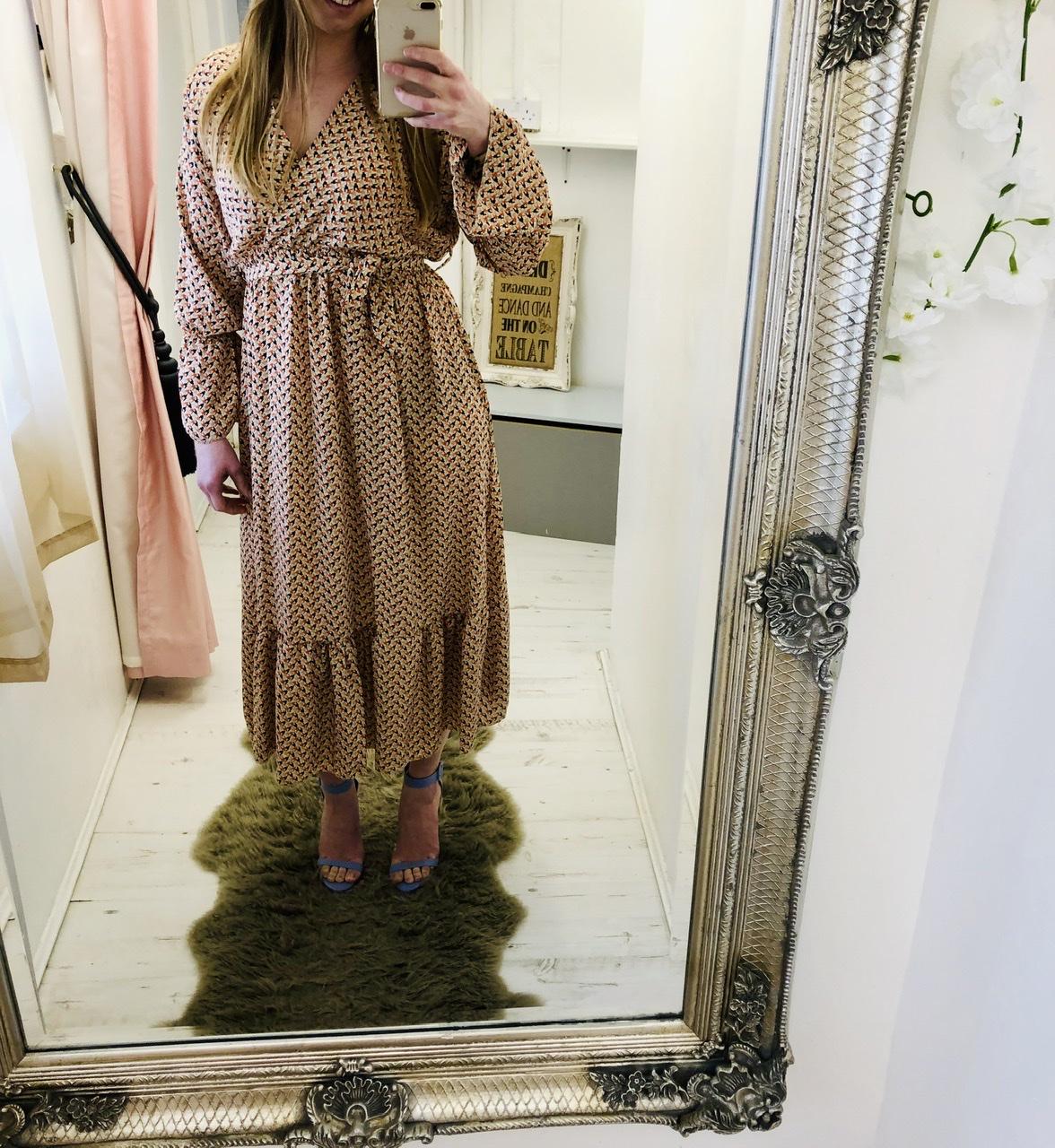 Sophia Beige Dress