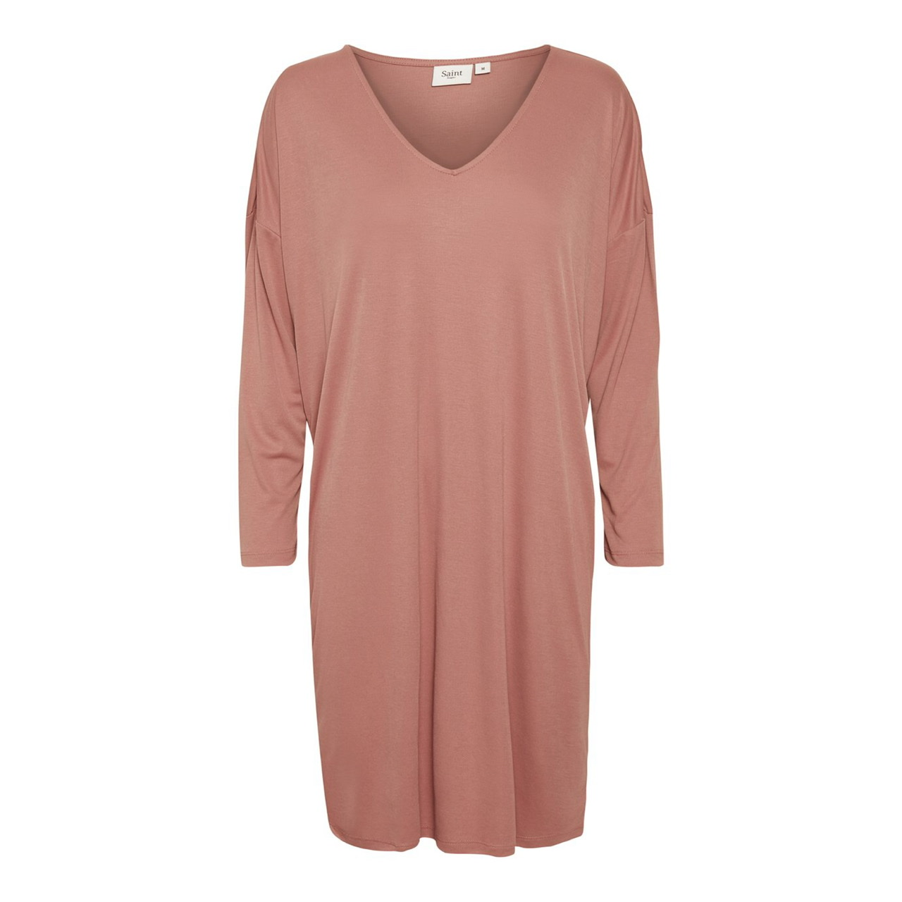 Giana Pink Jersey Dress by Saint Tropez