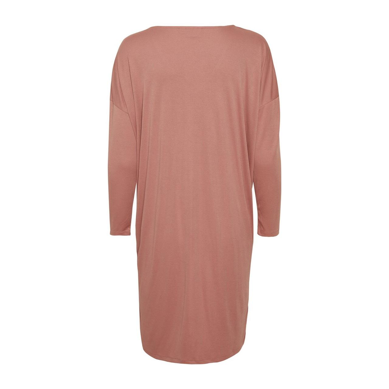 Giana Pink Jersey Dress by Saint Tropez