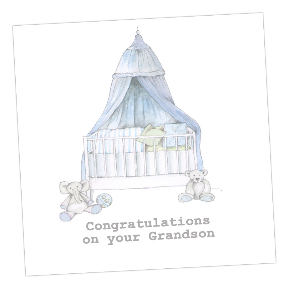 Congratulations Grandson Card