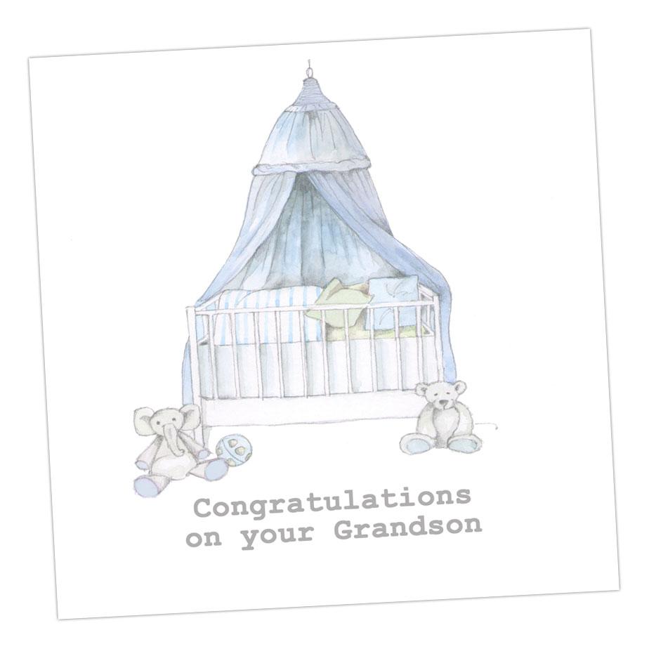 Congratulations Grandson Card
