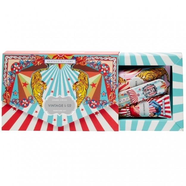 Vintage & Co Grand Circus Manicure Set