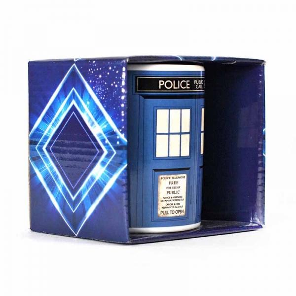 Dr Who Boxed Tardis Mug