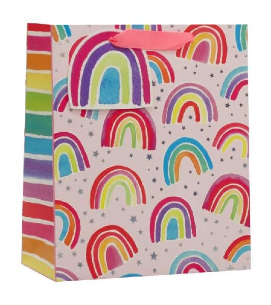 Gift Bag Medium Rainbows