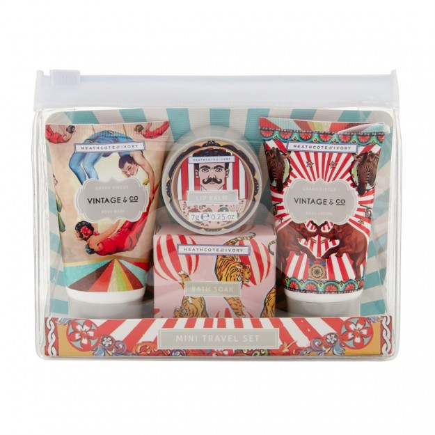 Vintage & Co Grand Circus Mini Travel Set
