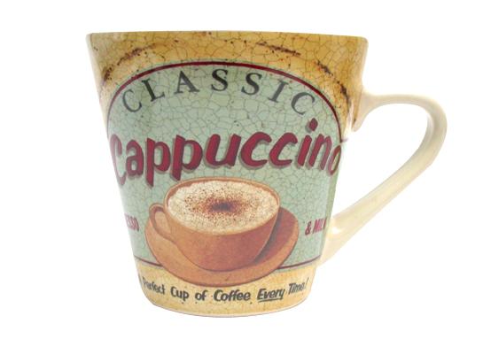 Cappuccino 1950s Style Mug