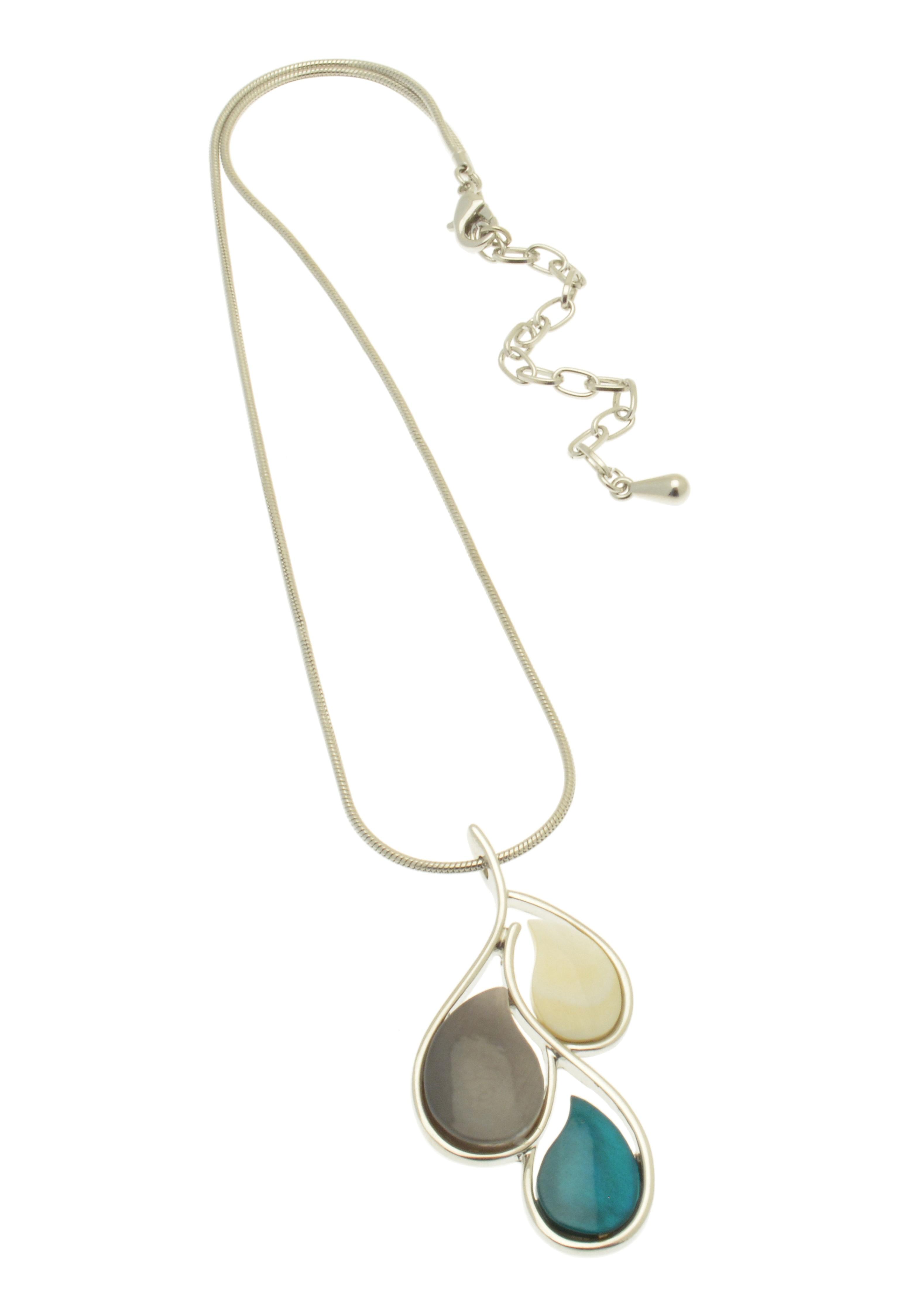 Blue Droplet Necklace NBC