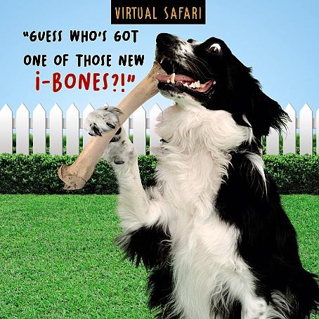 Virtual Safari I Bones Card