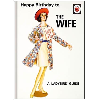 Ladybird Happy Birthday Wife