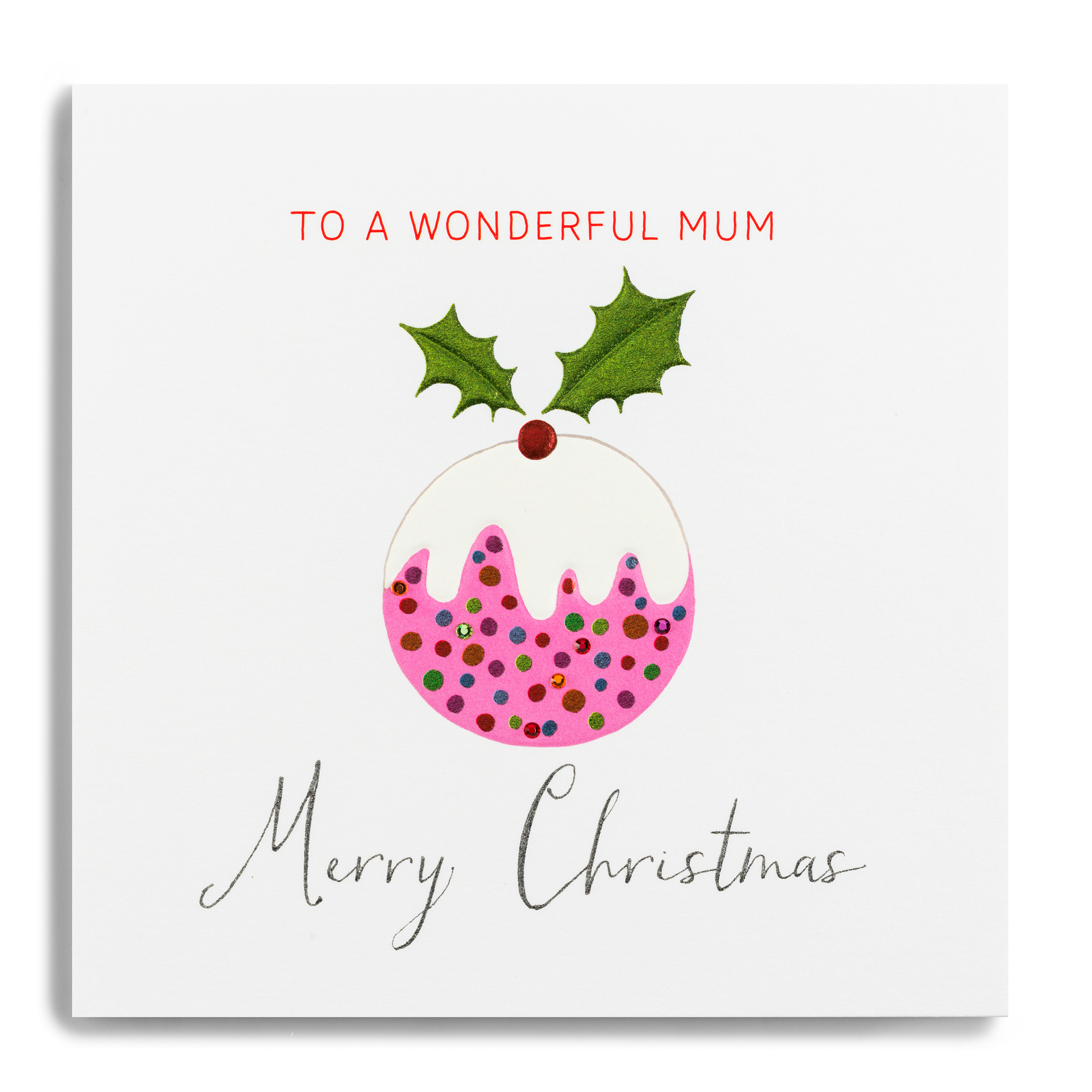 Forget Me Not Merry Christmas Wonderful Mum
