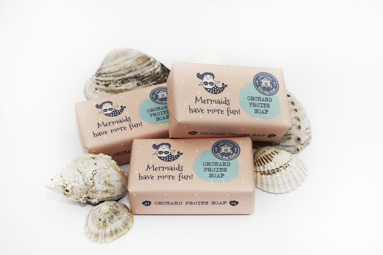 Sea Shed Orchard Fruits Mermaids Soap