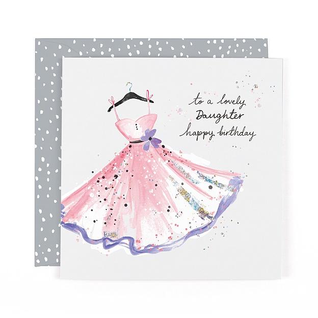 Lulu Lovely Daughter Happy Birthday Card