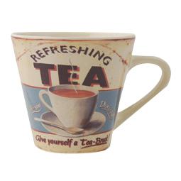 Refreshing Tea 1950s Style Mug