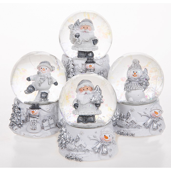Christmas Frost Mini Snow Globes