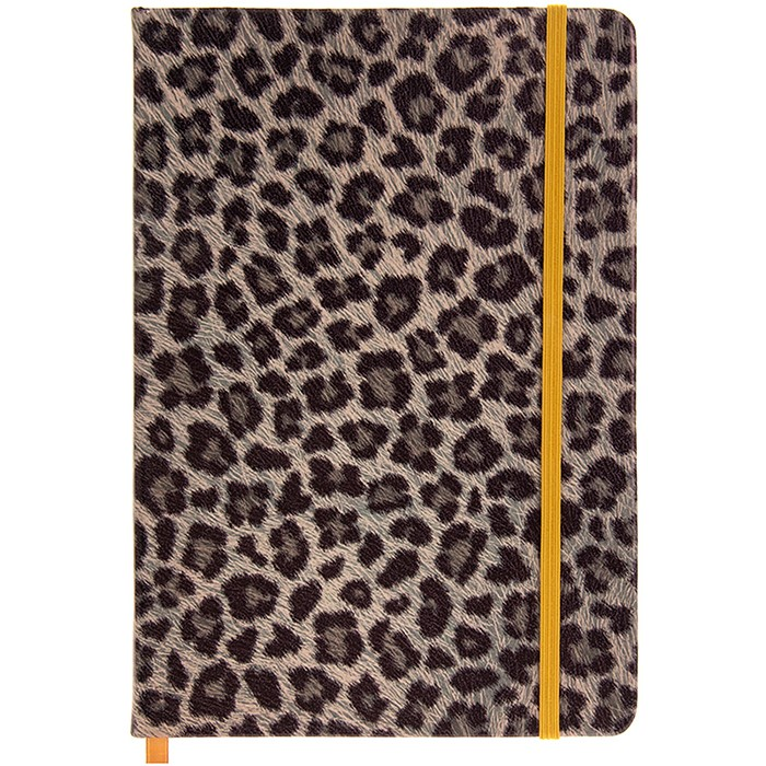 Leopard Print A5 Notebook