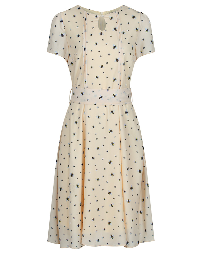 Honey Bee 1940s Style Tea Dress Size 14