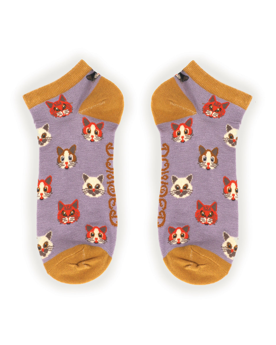 Powder Trainer Socks Cats