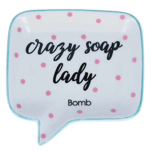 Bomb Soap Dish Crazy Soap Lady